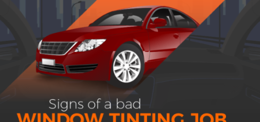 Signs Of A Bad Window Tinting Job featured image